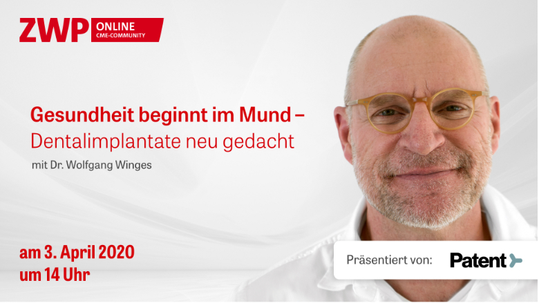 Web-Tutorial am 3. April: Dentalimplantate neu gedacht