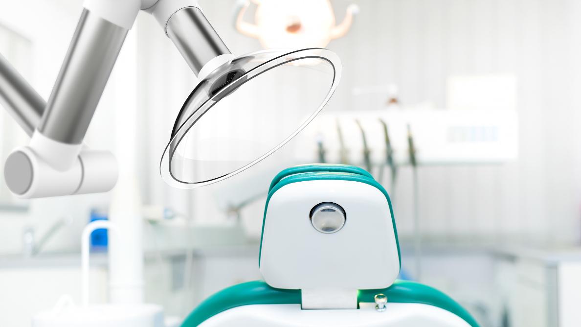 Für sichere Zahnarztpraxen entwickelt: der Luftreiniger aair MICU